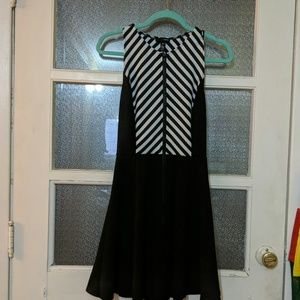 Dress with back cut out detail